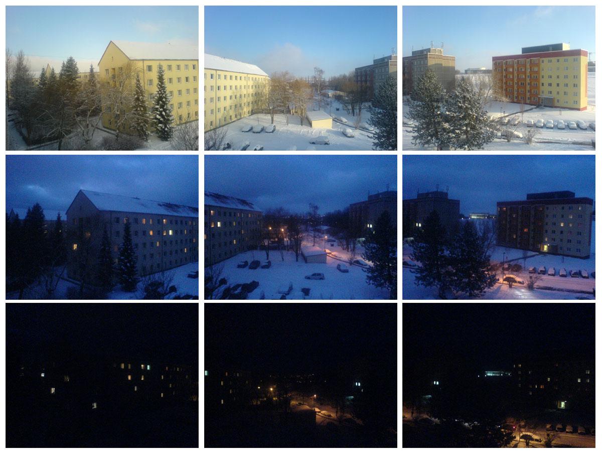 вид из моего окна в Ильменау