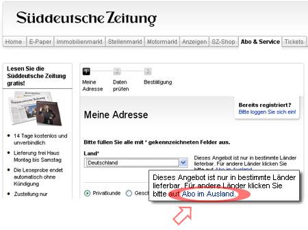 Газета на немецком бесплатно